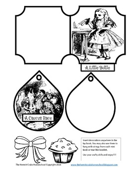 Alice in Wonderland Lap Book