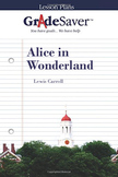 Alice in Wonderland Lesson Plan