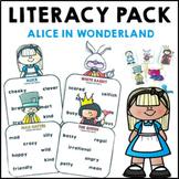Alice in Wonderland Literacy Activities Fairy Tale