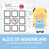 10 Disney Inspired Alice in Wonderland Literacy Centers