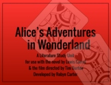 Alice in Wonderland Literature & Film Study Unit (editable)