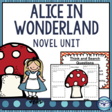 Alice in Wonderland Literature Packet and Common Core Unit Plan
