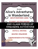 Alice in Wonderland Literature Spotlight