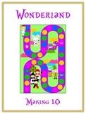 Alice in Wonderland Math Folder Game - Common Core - Making Ten