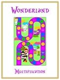 Alice in Wonderland Math Folder Game - Common Core - Multiplication