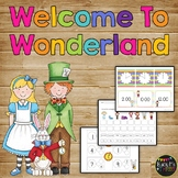 Alice in Wonderland Math and Literacy Centers First Grade