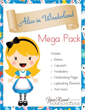 Alice in Wonderland Mega Pack