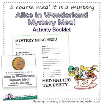 Alice in Wonderland Mystery Meal