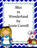 Alice in Wonderland Novel Study