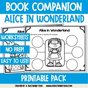 Alice in Wonderland- Book Companion
