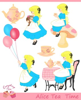 Alice in Wonderland Tea Time