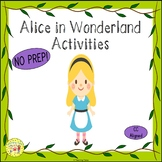 Alice in Wonderland Activities