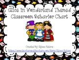 Alice in Wonderland Themed Classroom Behavior Chart