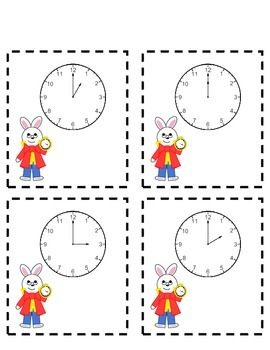 Alice Adventure Series: Telling Time