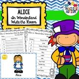 Alice in Wonderland Write the Room