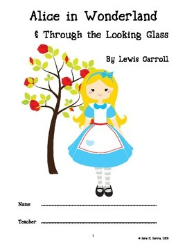 Alice in Wonderland and Through the Looking-Glass Booklet