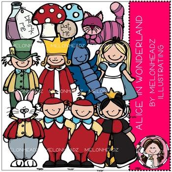 Melonheadz: Alice in Wonderland clip art - COMBO PACK
