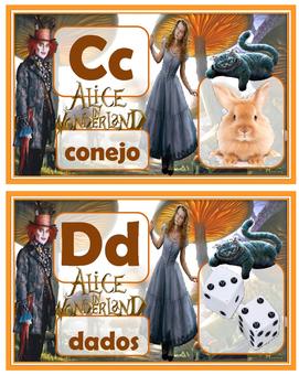 Alice in Wonerland in Spanish