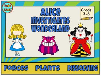 Alice investigates Science in Wonderland