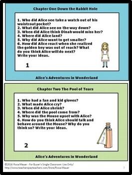 Alice's Adventures in Wonderland Novel Study