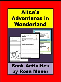 Alice's Adventures in Wonderland Literacy Unit