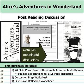 Alice's Adventures in Wonderland - Socratic Method - Post Reading Discussions