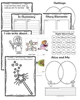 Alice the Fairy Book Companion