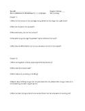 Alice's Adventures in Wonderland Ch. 11-12 Quiz/Reading Ch
