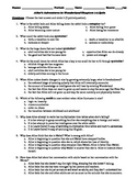 Alice's Adventures in Wonderland Chapters 1-3 12-Question Multiple Choice Quiz