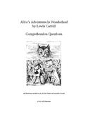 Alice's Adventures in Wonderland ( Alice in Wonderland ) Novel Study
