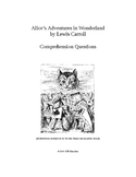 Alice's Adventures in Wonderland Comprehension Questions and Logic Unit Combo