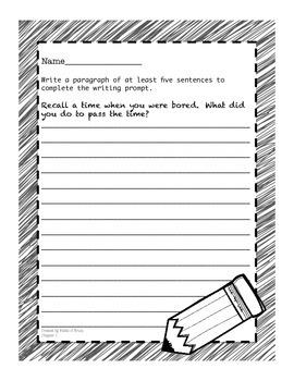 Alice's Adventures in Wonderland Writing Activities