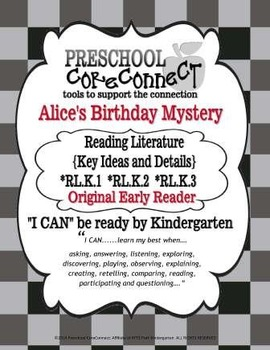 Alice's Birthday Mystery: Reading Literature {Key Ideas and Details}