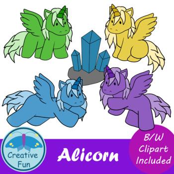 Alicorn Clipart