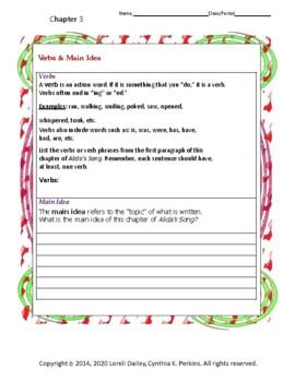 Alida' Song Literature and Grammar Unit