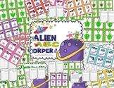 Alien ABC Order!