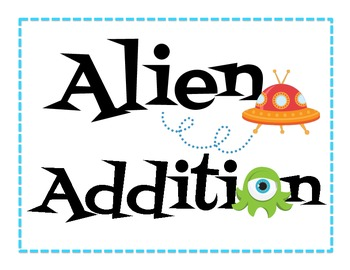 Alien Addition ~ 0-10 Addition