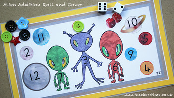 Alien Addition Roll and Cover