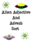 Alien Adjective and Adverb Sort