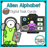 Alien Alphabet Letter Match Boom Cards