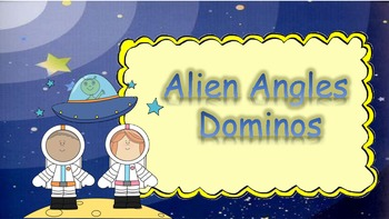 Types of Angles Dominos Game - Alien Angles
