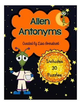 Alien Antonym Puzzles