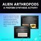 Alien Arthropod Protein Synthesis Activity