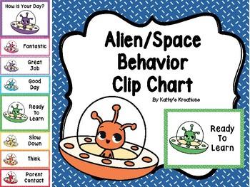 Alien Behavior Clip Chart