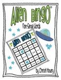 Alien Bingo (a non-sense word game)