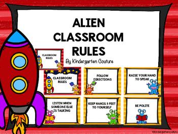 Alien Classroom Rules
