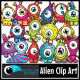 Alien Clip Art - Monsters Clip Art - Space Clip Art