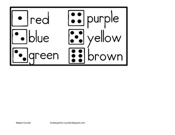 Alien Color Word Recognition Game