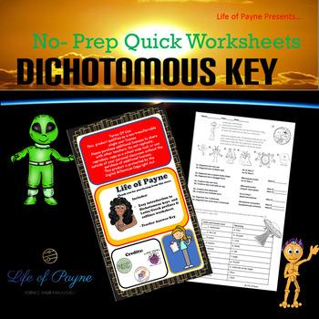 Alien Dichotomous Key