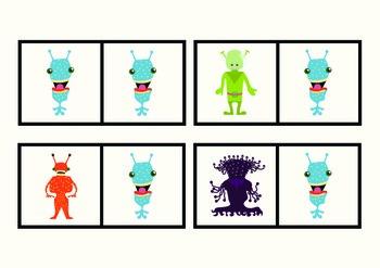 Alien Domino Game